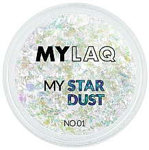 Voňavky, Parfémy, kozmetika Peľ na nechty - MylaQ My Star Dust