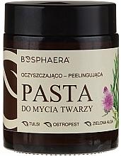 Voňavky, Parfémy, kozmetika Čistiaca peelingová pasta na tvár so zelenými morskými riasami - Bosphaera