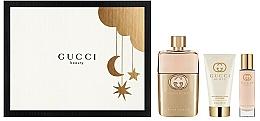 Voňavky, Parfémy, kozmetika Gucci Guilty Pour Femme - Sada (edp/90+ b/l/50 + edp/15)