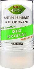 Voňavky, Parfémy, kozmetika Dezodorant - Bione Cosmetics Deo Krystal Antiperspirant&Deodorant