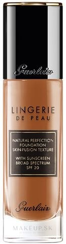 Tonálny základ - Guerlain Lingerie De Peau Natural Perfection Skin-Fusion Texture — Obrázky 06C - Very Deep Cool