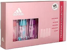 Voňavky, Parfémy, kozmetika Adidas Fruity Rhythm - Sada (edt/4x30ml)