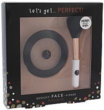 Voňavky, Parfémy, kozmetika Sada - Cosmetic 2K Let's Get Perfect! Bronzer Set Medium/Dark (bronzer/10g + brush/1pcs)