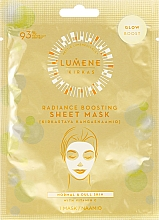 Voňavky, Parfémy, kozmetika Látková maska-lesk na tvár - Lumene Kirkas Radiance Boosting Sheet Mask