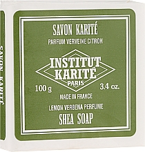 Voňavky, Parfémy, kozmetika Mydlo - Institut Karite Lemon Verbena Shea Soap