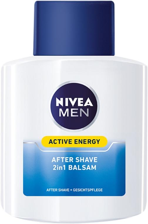 "Balzam po holení dvojitá akcia ""Energetický poplatok"" - Nivea For Men Active Energy Skin Revitalizer After Shave Balm — Obrázky N2"