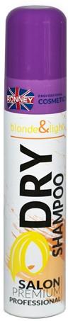 Suchý šampón pre svetlé vlasy - Ronney Dry Shampoo Blonde & Light