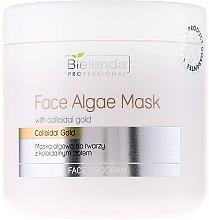 Voňavky, Parfémy, kozmetika Alginátová maska na tvár s koloidným zlatom - Bielenda Professional Face Algae Mask