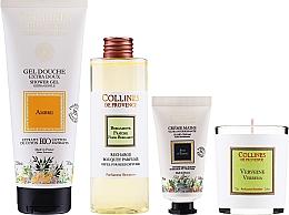 Voňavky, Parfémy, kozmetika Sada - Collines De Provence Gift Box (h/cr/30ml + shr/gel/200ml + candle/75g + aroma/diffuser/200ml)