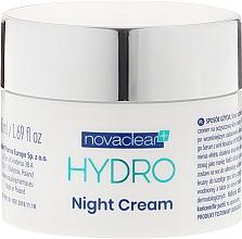 Voňavky, Parfémy, kozmetika Nočná hydratačná krémová maska na tvár - Novaclear Hydro Night Cream