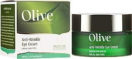 Voňavky, Parfémy, kozmetika Očný krém proti vráskam - Frulatte Olive Anti-Wrinkle Eye Cream