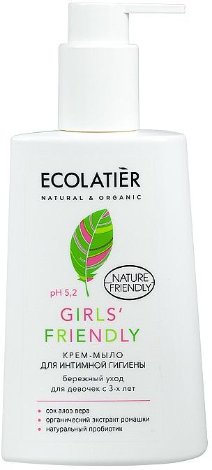 """Gél na intímnu hygienu """"Šterná starostlivosť"""" - Ecolatier Girls' Friendly"""