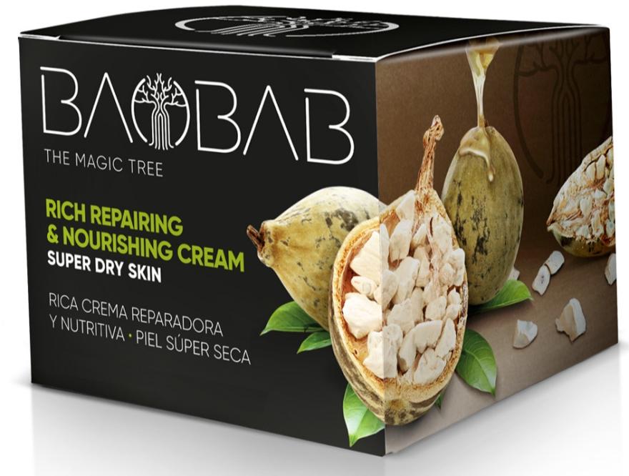 "Krém na telo ""Baobab"" - Diet Esthetic Restorative and Nourishing Cream — Obrázky N1"