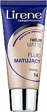 Voňavky, Parfémy, kozmetika Matujúci tónovaci krém - Lirene Nature Matte Foundation