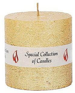 Prírodná sviečka, 7,5 cm - Ringa Golden Glow Candle