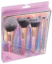 Voňavky, Parfémy, kozmetika Sada štetcov na líčenie, 5 ks, 37351 - Top Choice Rose Gold