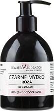 Voňavky, Parfémy, kozmetika Tekuté čierne mydlo s olejom ruže - Beaute Marrakech Rose Black Liquid Soap