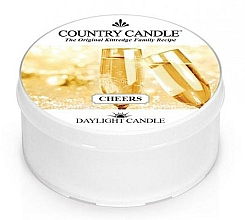Voňavky, Parfémy, kozmetika Čajová sviečka - Country Candle Cheers Daylight