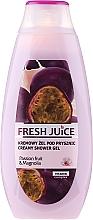 """Voňavky, Parfémy, kozmetika Krém-gél pre sprch """"Ovocné šťavy z ovocia a magnólie"""" - Fresh Juice Creamy Shower Gel Passion Fruit & Magnolia"""