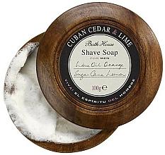 Voňavky, Parfémy, kozmetika Bath House Cuban Cedar & Lime - Mydlo na holenie