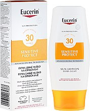 Voňavky, Parfémy, kozmetika Extra ľahké telové mlieko SPF30 - Eucerin Sun Protection Lotion Extra Light SPF30