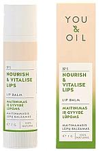 """Voňavky, Parfémy, kozmetika Balzam na pery """"Výživa a revitalizácia"""" - You & Oil Nourish & Vitalise Lip Balm"""