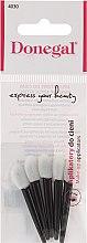 Voňavky, Parfémy, kozmetika Aplikátory k nanášaniu očných tieňov, 5 ks, čierno-biele - Donegal Eyeshadow Applicator