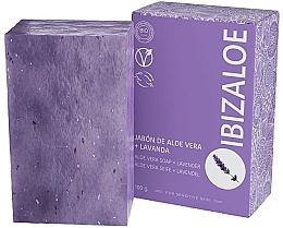 Voňavky, Parfémy, kozmetika Mydlo s levanduľou - Ibizaloe Aloe Vera Soap Lavender