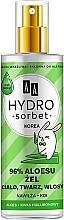 Voňavky, Parfémy, kozmetika Univerzálny gél 96% - AA Hydro Sorbet Gel (sprej)