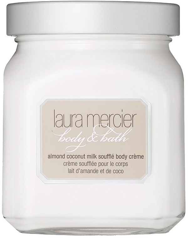 """Krémové suflé na telo """"Mandle a kokosové mlieko"""" - Laura Mercier Almond Coconut Milk Souffle Body Cream — Obrázky N1"""