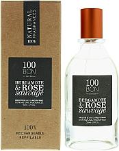 Voňavky, Parfémy, kozmetika 100BON Bergamote & Rose Sauvage Concentre - Parfumovaná voda