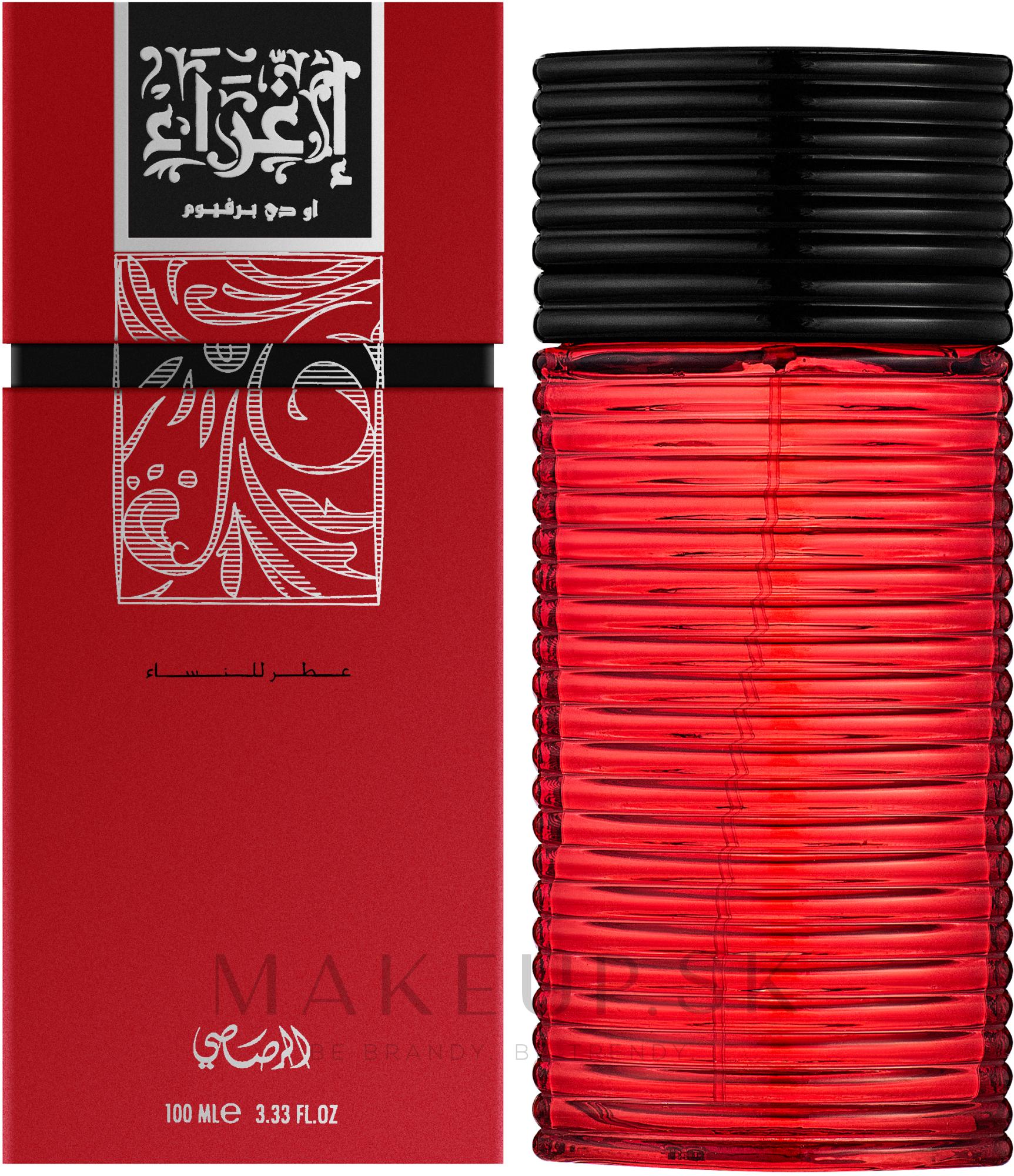 Rasasi Egra Women - Parfumovaná voda — Obrázky 100 ml