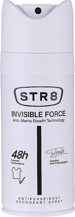 Sada - STR8 Invisible Force (show/gel/400ml + deo/150ml) — Obrázky N5