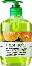 Voňavky, Parfémy, kozmetika Gélové mydlo na telo - Fresh Juice Green Tangerine & Palmarosa