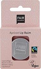 """Voňavky, Parfémy, kozmetika Balzam na pery """"Marhuľa"""" - Fair Squared Lip Balm Apricot"""