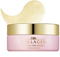 Voňavky, Parfémy, kozmetika Hydrogélové náplasti na oči s kolagénom - Missha 24K Collagen Hydro Gel Eye Patches