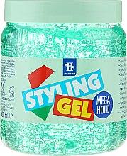 Voňavky, Parfémy, kozmetika Modelovací gél na vlasy - Tenex Styling Wetlook Green Gel