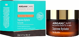 Voňavky, Parfémy, kozmetika Hydratačný krém na tvár - Arganicare Shea Butter Supreme Hydrator