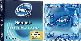 Voňavky, Parfémy, kozmetika Kondómy, 3 ks - Unimil Natural