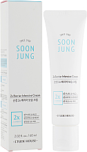 Voňavky, Parfémy, kozmetika Intenzívny pleťový krém - Etude House Soon Jung 2x Barrier Intensive Cream