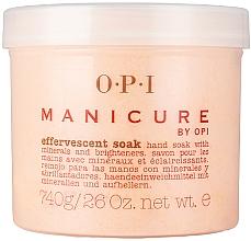 Voňavky, Parfémy, kozmetika Mydlo s minerálmi s rozjasňujúcim účinkom - O.P.I. Manicure Effervescent Soak