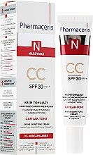 Voňavky, Parfémy, kozmetika CC-krém - Pharmaceris N Capilar-tone CC Cream SPF 30
