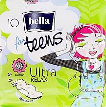 Voňavky, Parfémy, kozmetika Hygienické vložky For Teens Ultra Relax, 10 ks - Bella