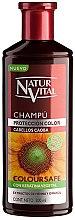 Voňavky, Parfémy, kozmetika Šampón na zachovanie farby farbených vlasov - Natur Vital Coloursafe Henna Colour Shampoo Mahogony Hair