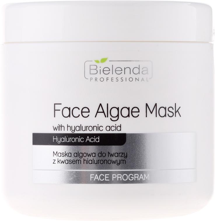 Alginátová tvárová maska s kyselinou hyalurónovou - Bielenda Professional Face Algae Mask with Hyaluronic Acid