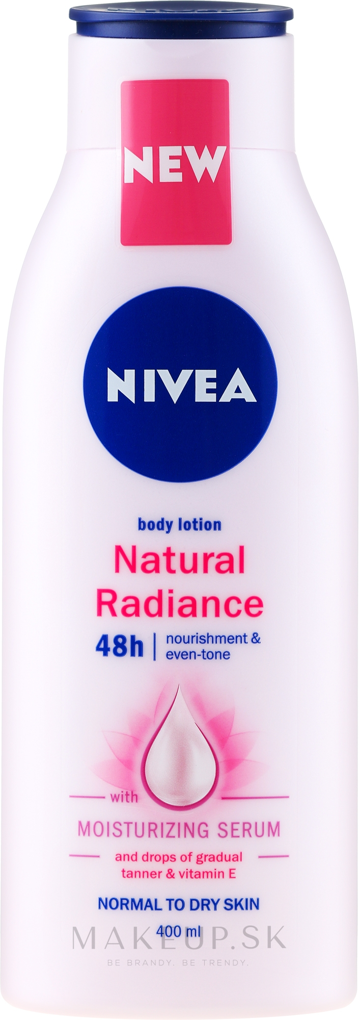 Lotion na telo - Nivea Natural Radiance Body Lotion — Obrázky 400 ml