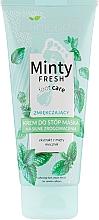 Voňavky, Parfémy, kozmetika Zjemňujúca krémová maska na nohy - Bielenda Minty Fresh Foot Care Softening Foot Cream Mask