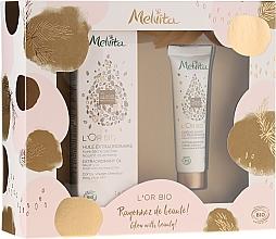 Voňavky, Parfémy, kozmetika Sada - Melvita L'Or Bio (oil/50ml + h/cr/30ml)