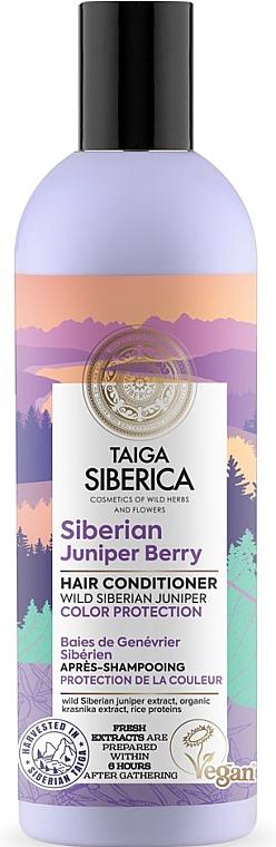 "Kondicionér na vlasy ""Ochrana farieb pre farbené vlasy"" - Natura Siberica Doctor Taiga Siberian Juniper Berry Hair Conditioner"