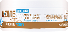 Voňavky, Parfémy, kozmetika maska na vlasy s artivnym kreatínom - H.Zone Keratin Active